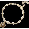 31 Sons de mode(トランテアン) - 花モチーフ付ミニパールブレスレット - Bracelets - ¥2,625  ~ $26.71