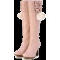 LIZ LISA(リズリサ) - リボン付きブーツ - Boots - ¥13,440  ~ $136.73