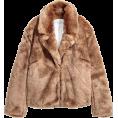 HalfMoonRun - faux-fur jacket - Jacket - coats -
