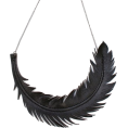Lieke Otter - Feather Necklace - Necklaces - $55.00
