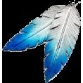 Doozer  - feather earrings - Brincos -