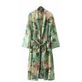 LaDomna  Cardigan -  floral print kimono