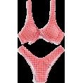 HalfMoonRun - gingham bikini - Swimsuit -