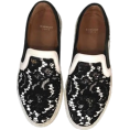 sandra  - givenchy moccasin in black and white - Moccasins -
