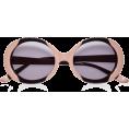 sanja blažević - Sunglasses Beige - Sunglasses -
