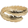 Noemi  - Gold Feather Ring - Rings - $52.00