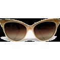 HalfMoonRun - golden cat-eye sunglasses - Óculos de sol -