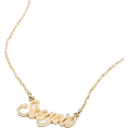 shortyluv718 - gold necklace - Necklaces -