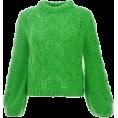 Doozer  - green sweater - Pullovers -