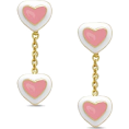 Doozer  - heart earrings - Earrings -