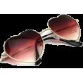 HalfMoonRun - heart framed sunglasses - Sunglasses -