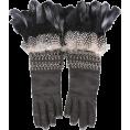 carola-corana - A. McQueen gloves - Gloves -
