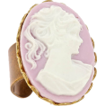 jessica - Frolick Portrait Cameo Ring - Rings -