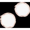 DotingSage - johnlewis Twisted Hoop Earrings, Rose Go - Uhani - £12.00  ~ 14.04€