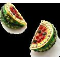 Katarina grbic - Watermelon Earrings - Earrings -