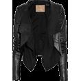 Agnes Green - Leather jacket - Jacket - coats -
