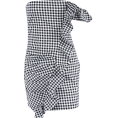 FECLOTHING - lattice one-sided flounces dress - Haljine - $25.99  ~ 165,10kn