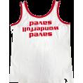 FECLOTHING - letters printed loose slim suspenders - Shirts -