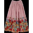 HalfMoonRun - long summer skirt - Skirts -