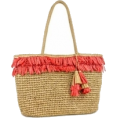 Doozer  - magid-fringe-straw-market-tote-beach-bag - Travel bags -