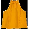 Doozer  - marigold top - Majice bez rukava -