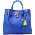Willistrt - Michael Kors Blue Hamilton Lar - Carteras -