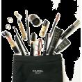vespagirl - minimal flatlay makeup chanel bag - Cosmetics -
