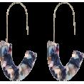PaoM - mix blue earrings - Earrings -
