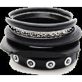 LadyDelish - Narukvice Bracelets Black - Bracelets -