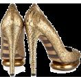 sandra24 - Gold Shoes - Shoes -
