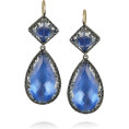 sandra24 - Blue Earrings - Aretes -