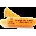 HalfMoonRun - orange organic lip balm - Cosmetics -