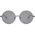HalfMoonRun - oversized round sunglasses - サングラス -