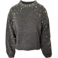 FECLOTHING - pearl decorative sweater - プルオーバー - $32.99  ~ ¥3,713