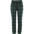 FECLOTHING -  plaid trousers - Capri & Cropped - $25.99
