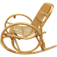 HalfMoonRun - rattan rocking chair - Uncategorized -