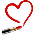 Doozer  - red lipstick heart - Cosmetics -