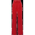 beleev  - red wide leg pants - Capri hlače -