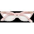 HalfMoonRun - retro embellished cat eye - Dioptrijske naočale -