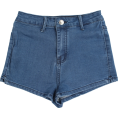FECLOTHING - retro washed high waist shorts - Hlače - kratke - $25.99  ~ 22.32€