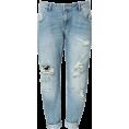 vespagirl - ripped zara boyfriend jeans - Jeans -