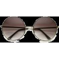 HalfMoonRun - round sunglasses - Sunglasses -
