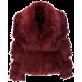 sandra24 - long fur coat - Jacket - coats -