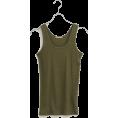SHIPS for women(シップス) - SHIPS for women TEREKO RIB TANK - T-shirts - ¥3,150  ~ $32.05