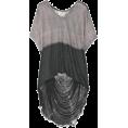 Lieke Otter - Shirt Dip Dye Grey Tints - Shirts -