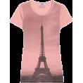 Doña Marisela Hartikainen - Shirt Pink - Majice - kratke -