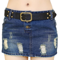 Alice- Rebekah Jessica Mckinley Jameson - skirt denim  - Skirts -