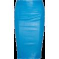 sanja blažević - Skirts Blue - Skirts -