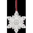 HalfMoonRun - snowflake ornament - Uncategorized -