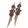 Doozer  - soutache earrings - Earrings -